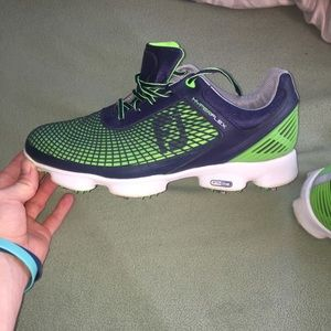 Used footjoy hyperflex 2.0 green and blue
